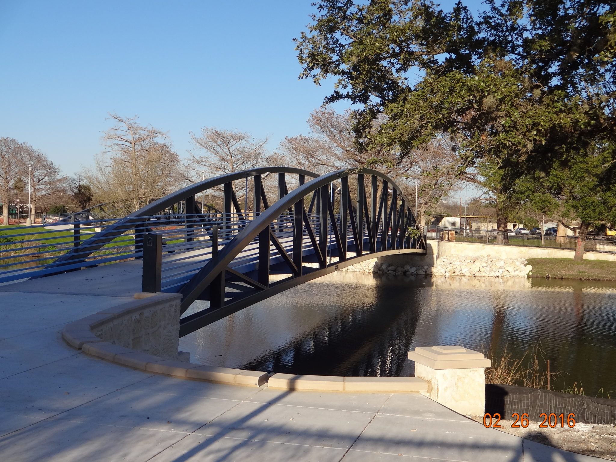 CoSA Elmendorf Lake Bridge Complete