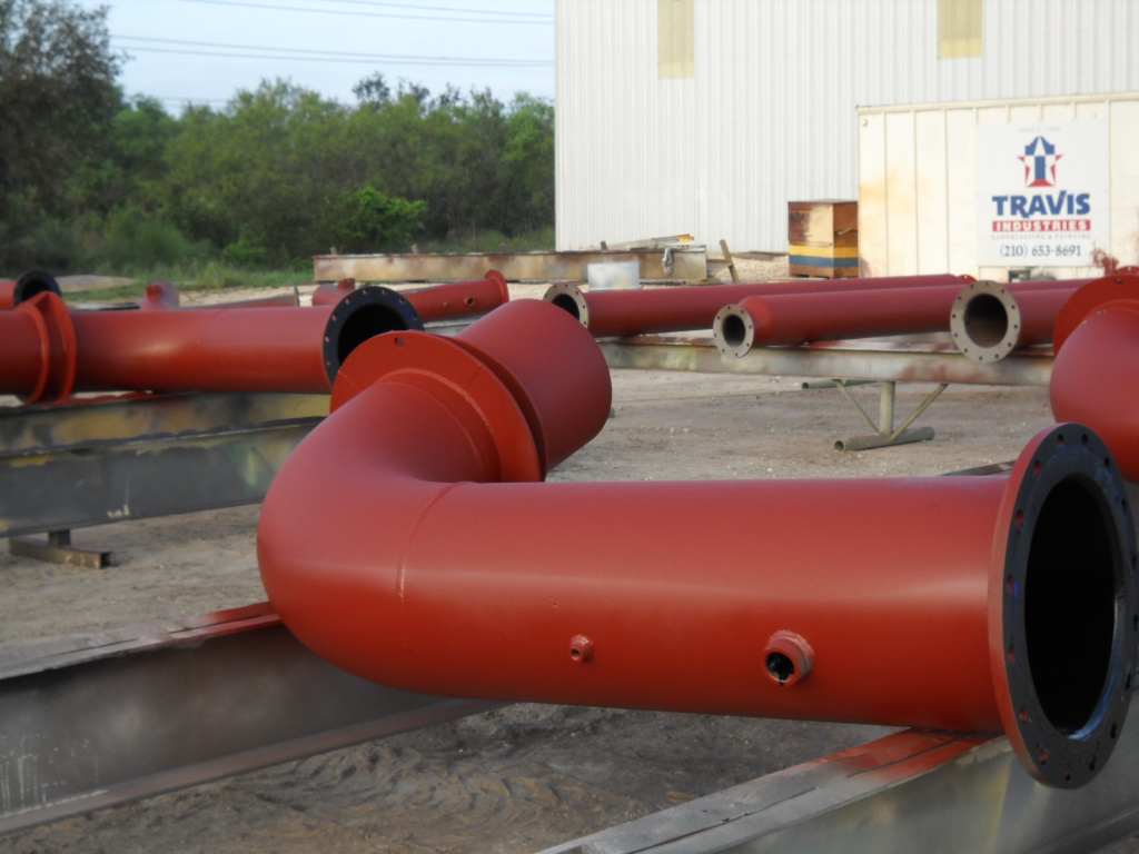 WWTP Piping Paint Comp